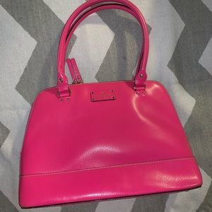 kate spade Rachelle Grand Street fuschia handbag